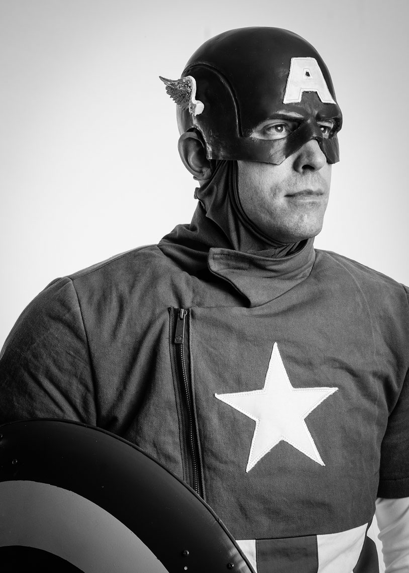 Captain America Cosplay portrait