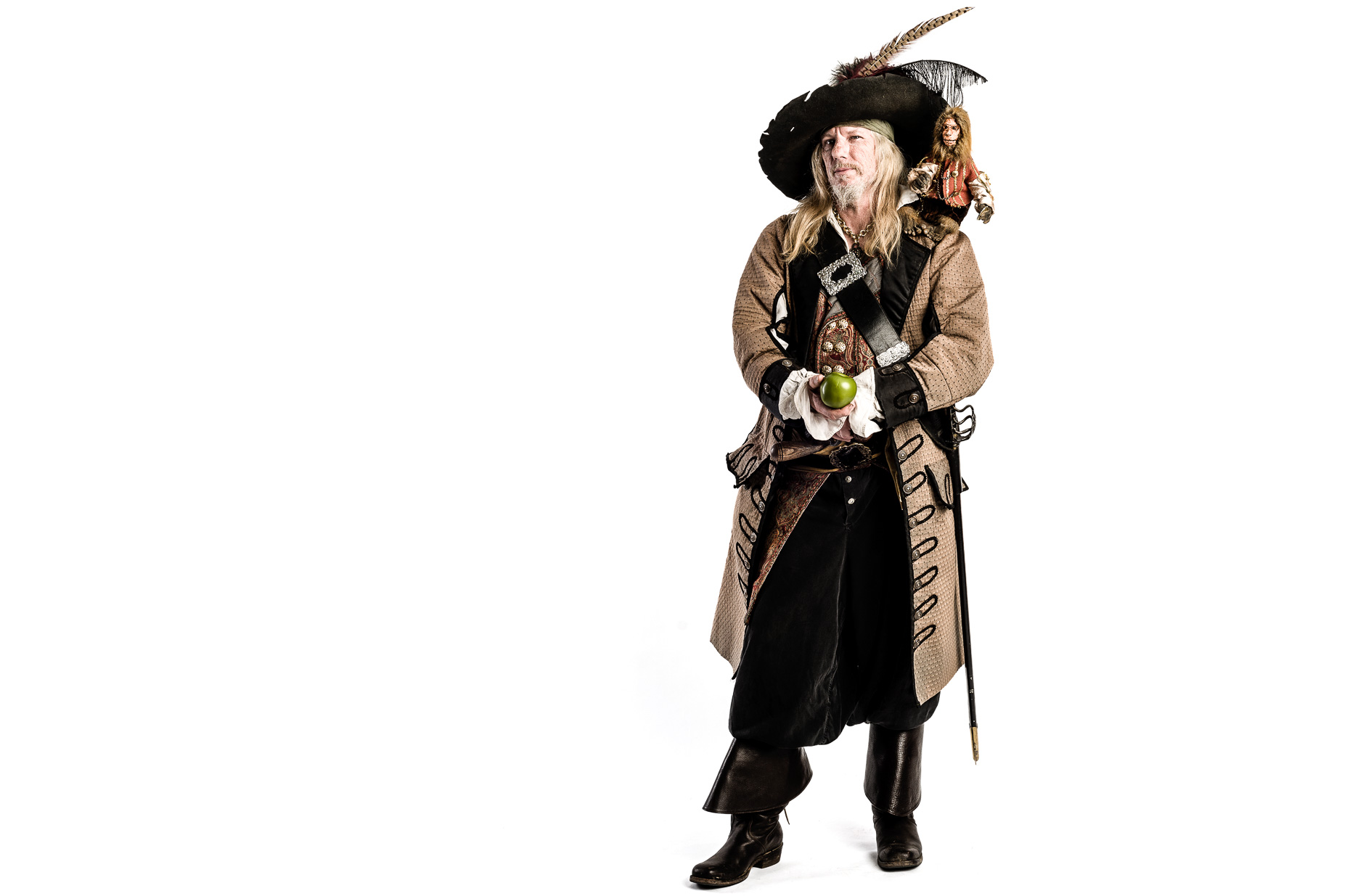 Pirates of the Caribbean Captain Barbosa cosplay