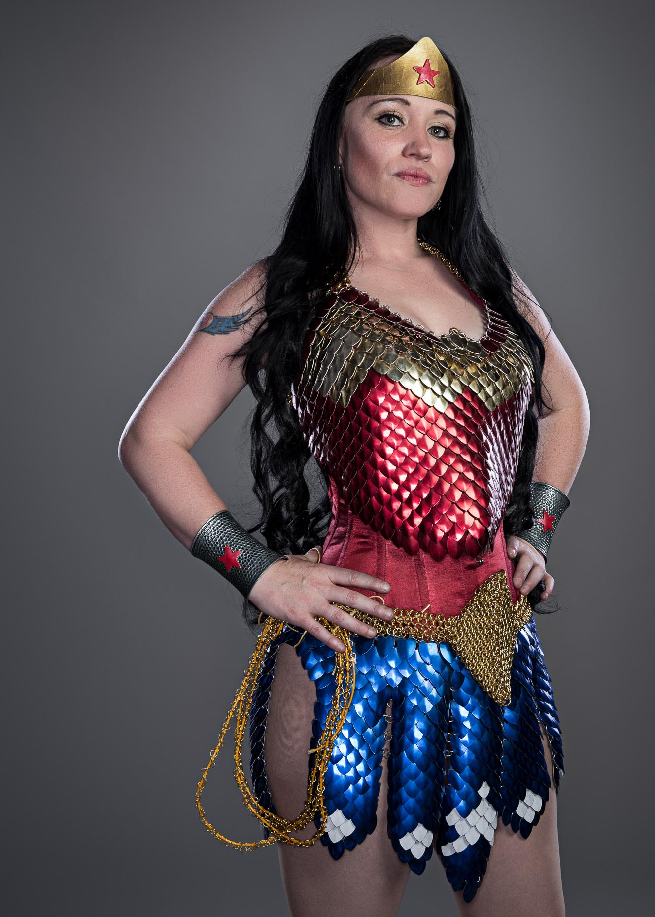 Chainmail Wonder Woman Cosplay